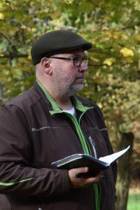 Markus Kleinberg mit Prüferblick