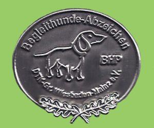 BHP-Abzeichen in Silber