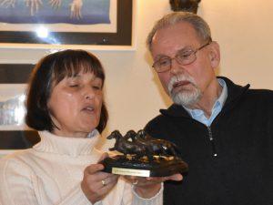 Harald Schörling erhielt außerdem das BHP-Abzeichen in Silber