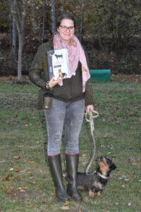 Sonderpreis für Laura mit Kolja